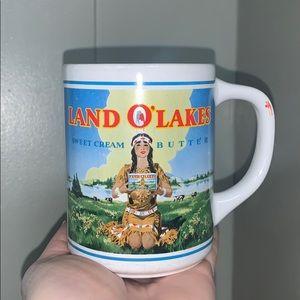 Vintage land o lakes cream butter mug